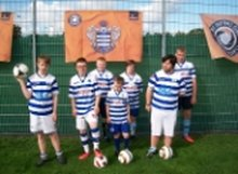 QPR Tiger Feet 5's fundraising page