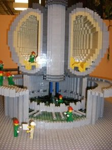 Under construction - ITER in LEGO