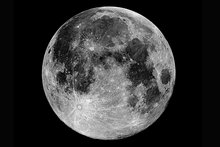 Moon's lack of water down to ancient shift in its spin axis