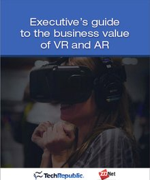 Executive's guide to the business value of VR and AR (free ebook)
