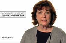 Women Quote Trump's Views on Women in Ad From Republican Group