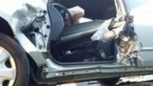 Police: Guardrail that impaled car performed correctly in I-93 crash