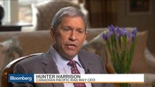 Canadian Pacific CEO Says He Faces `Selling Job' to Woo CSX