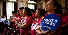 California Nears Deal to Adopt a $15 State Minimum Wage