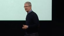 """Tim Cook Says """"We Will Not Shrink"""""""