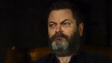 Wise human Nick Offerman reads more shower thoughts, hurts your brain