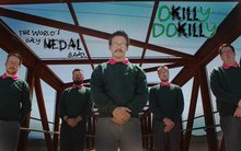 Dear God! There is a Ned Flanders themed metal band called Okilly Dokilly