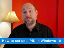 How to create a PIN in Windows 10