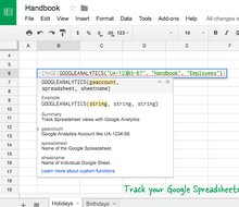 How to Track Google Spreadsheet Views with Google Analytics