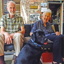 Dementia dogs: Australian canine program set to become world's largest