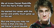 Something Devastating Most People Don't Know About Harry's Stunt Double. Wow.