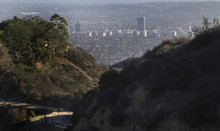 Getting in one last hike before Runyon Canyon closes Friday