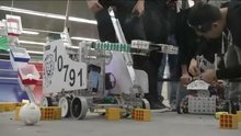 Robotics Contest Teaches Students to Co-operate in Competitive Environment