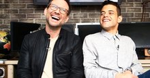 'Mr. Robot' stars Christian Slater and Rami Malek talk tech favorites