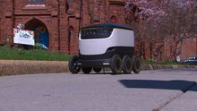 Company seeks to test self-driving delivery robots in DC