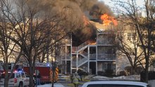 Girl, 9, Jumps from Flames as Fire Tears Through NJ Townhouse Complex: Fire Officials
