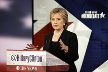 Clinton-Sanders exchange over campaign finance turns personal