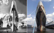 One last SOS for once famous ocean liner built in Newport News