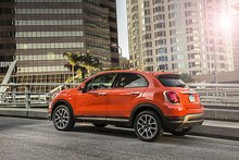 Hagerty Test Drive: 2016 Fiat 500X AWD - Traverse City Record-Eagle: Driver's Seat