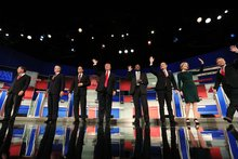 GOP hopefuls trade barbs on immigration issues