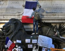 Paris, where the ideals of liberty, equality and fraternity meet reality