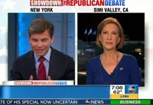 Carly Fiorina   Stephanopoulos   Planned Parenthood videos
