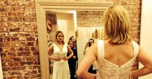 Tips on Choosing the Perfect Wedding Dress from a Real Bride : Brides