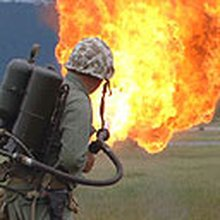 Football: Knowledge - has a flamethrower ever been used to thaw out a frozen pitch?