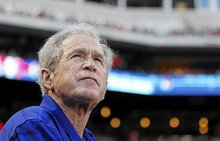 George W. Bush has knee replacement surgery in Chicago