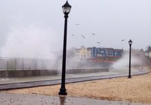 Flood warnings issued as gusty nor'easter soaks tri-state area