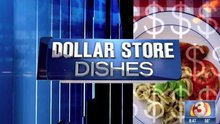 Dollar Store Dishes