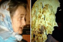 Nan in a naan: Family find their grandmother Sheila 'alive' in giant naan bread