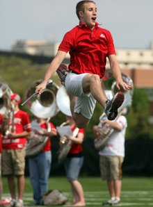 Annual tryouts for OSU drum major an intensely competitive process