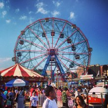 My First Time On Wonder Wheel At Coney Island