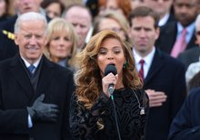 Beyonce lip-syncing at the inauguration: Musician Mike Doughty says she was singing live.