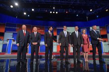 Low-polling GOP candidates vie for relevance