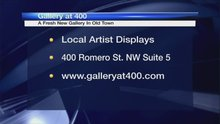 New gallery in Old Town displays art by locals