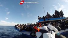 Migrants Held For Throwing Others Overboard
