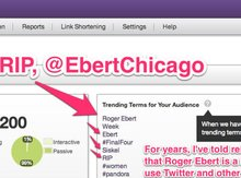 5 social media lessons from Roger Ebert, @EbertChicago
