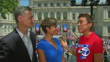 Robin Roberts says emceeing the women's soccer ticker-tape parade was 'drop-the-mic' moment for her