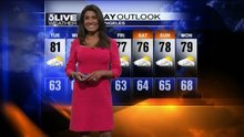 Tuesday Forecast: Onshore Flow to Bring Slightly Cooler Temps