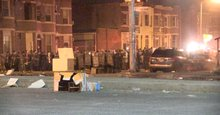 'They're firing nonstop': Chilling video of a Baltimore standoff