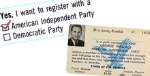 Are you an accidental member of California's American Independent Party? Find out now.