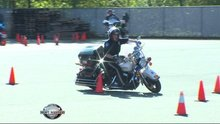 WMW gets firsthand look at motorcycle training; 'most difficult' law enforcement program