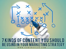 7 Kinds of Content You Should Be Using in Your Marketing Strategy