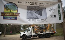 Runyon Canyon neighbors file lawsuit to stop construction of basketball court