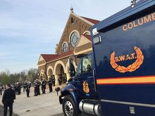 Columbus Police will live-stream funeral for fallen officer as overflow crowds expected