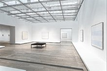 Survey of Agnes Martin's powerful yet meditative work draws a straight, vibrant line to Zen