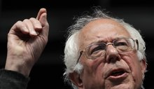 Top Democrats to Sanders: Don't drop out. But tone it down.