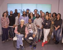 """""""Black-ish"""" gets a visit from TV legend Norman Lear"""
